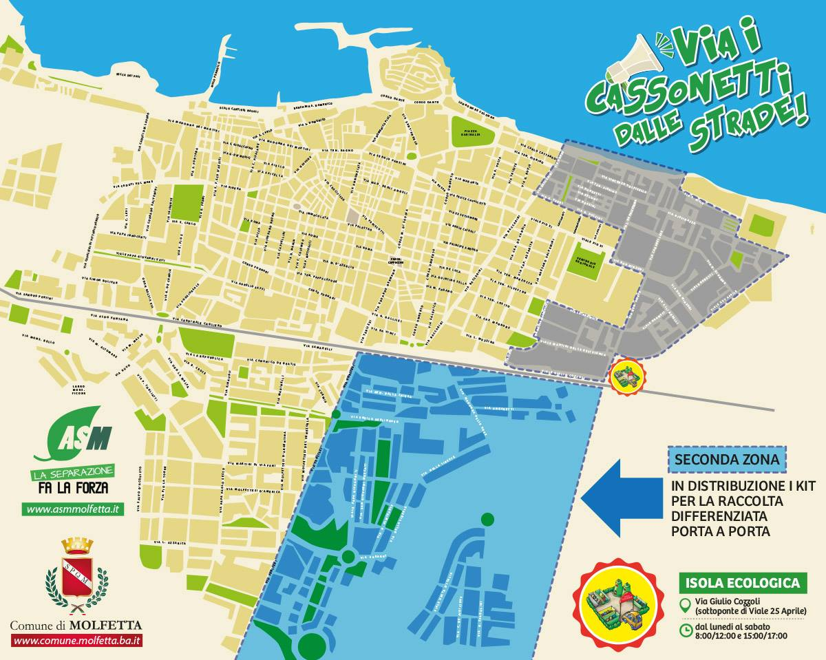 Cartina Puglia Molfetta.Citta Di Molfetta Test